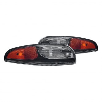 CG® - Black Amber/Clear Factory Style Turn Signal/Parking Lights
