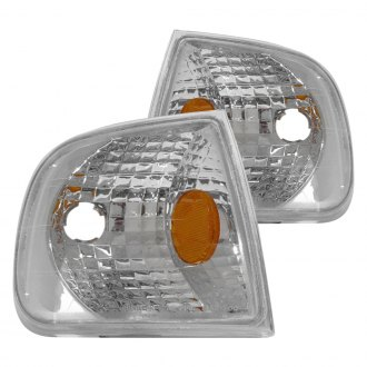 CG® - Chrome Euro Corner Lights with Amber Reflectors