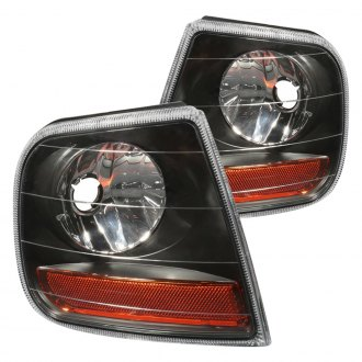 CG® - Black Crystal Turn Signal/Corner Lights