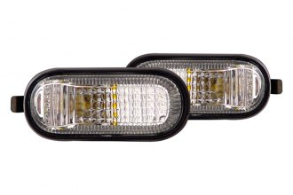 CG® - Chrome Convex-type Side Marker Lights