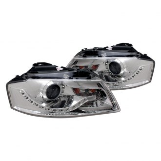 CG® - Chrome Projector Headlights with R8 LED Style