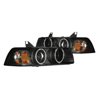 CG® - Black Halo Projector Headlights G2