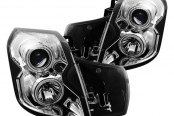 CG® - Chrome CCFL Halo Projector Headlights