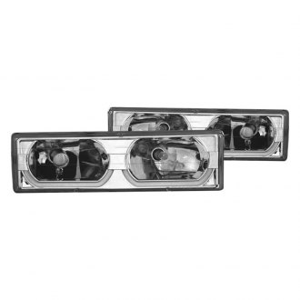 CG® - Chrome Low-Brow Style Halo Euro LED Headlights