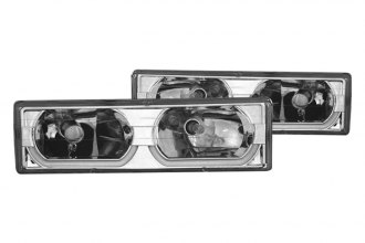 CG® - Chrome Low-Brow Style Euro Headlights