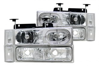 CG® - Chrome Halo Euro Headlights