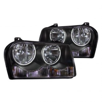 CG® - Black CCFL Halo LED Euro Headlights