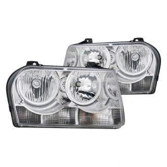 CG® - Chrome CCFL Halo LED Euro Headlights