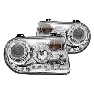 CG® - Chrome CCFL Halo Projector LED Headlights