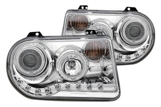 CG® - Chrome CCFL Halo Projector Headlights with LEDs G2