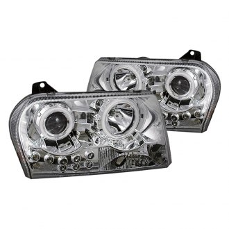CG® - Chrome CCFL Halo Projector Headlights with LEDs