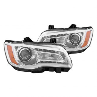 CG® - Chrome Plank Style Projector Headlights