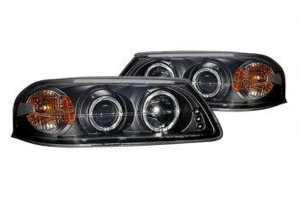 CG® 02-AZ-CI00-PBC-R-A - Black Halo Projector Headlights