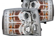 CG® - Chrome Projector Headlights with LEDs