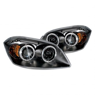CG® - Black Halo Projector Headlights with LEDs