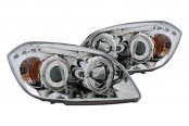 CG® - Chrome CCFL Halo Headlights with LEDs