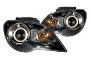 CG® - Black CCFL Halo Projector Headlights