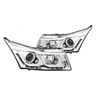 CG® - Chrome U-Bar Style Projector Headlights