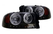 CG� - Black Halo Headlights with LEDs