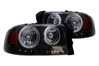 CG® - Black Halo Euro Headlights with LEDs