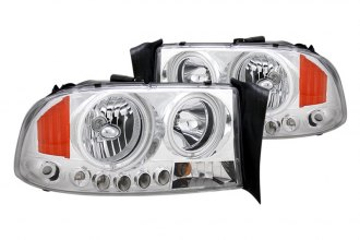 CG® - Chrome Halo Euro Headlights with LEDs