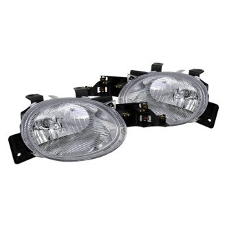 CG® - Chrome Euro Headlights with Parking Lights