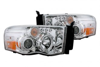 CG® - Chrome Halo Projector Headlights with LEDs G2
