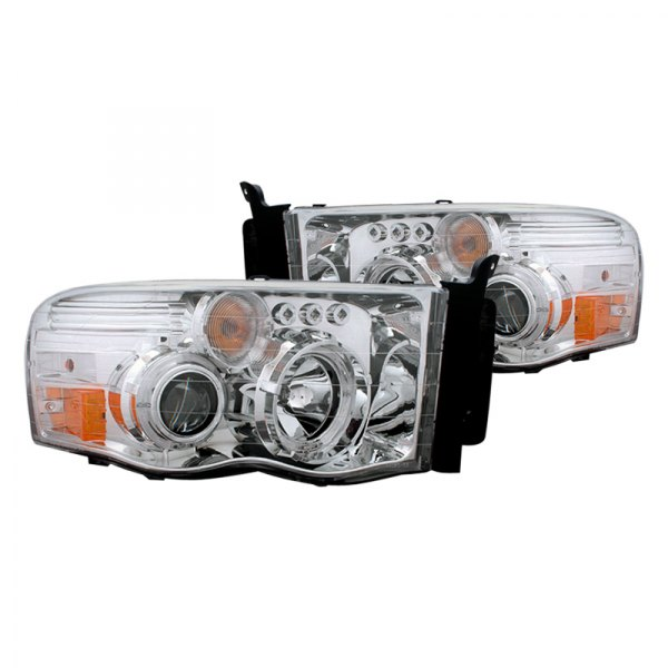 CG® - Chrome Halo Projector Headlights with LEDs Gen 2 - 1500 / 2500 / 3500