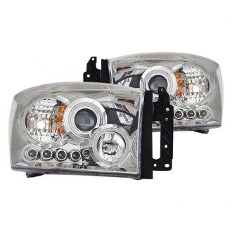 2008 Dodge Ram Custom Amp Factory Headlights Carid Com