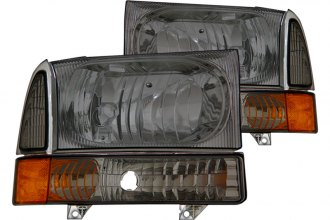 CG® - Smoke Euro Headlights with Corner Lights