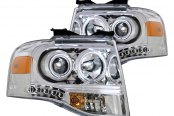 CG® - Chrome Halo Crystal Headlights