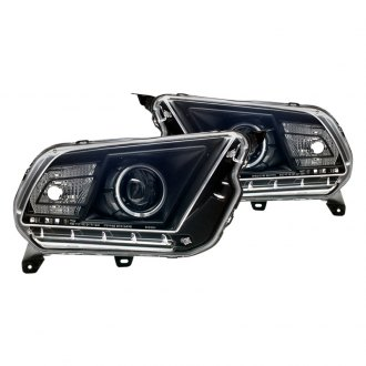 CG® - Black CCFL Halo Projector LED Headlights