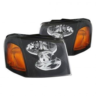 02 az ge02 b a_6 2009 gmc envoy custom & factory headlights carid com
