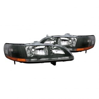 CG® - Black Euro Headlights