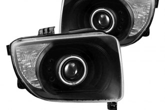 CG® - Black Halo Projector Headlights