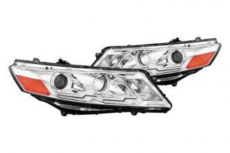 CG® - Chrome Plank Style Halo Projector Headlights