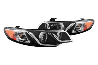 CG® - Black CCFL Halo Projector Headlights with LEDs G2