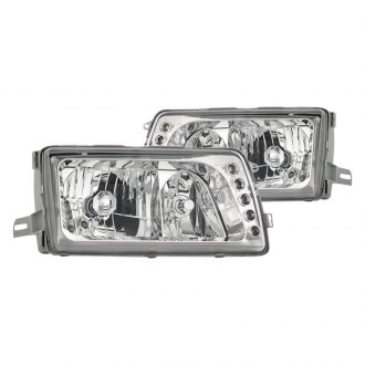 CG® - Chrome Euro Headlights with Parking LEDs