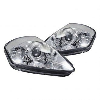 CG® - Chrome Dual Halo Projector LED Headlights