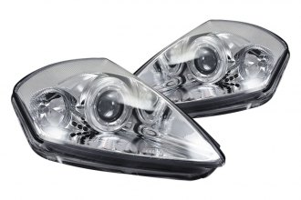 CG® - Chrome Dual Halo Projector Headlights G2