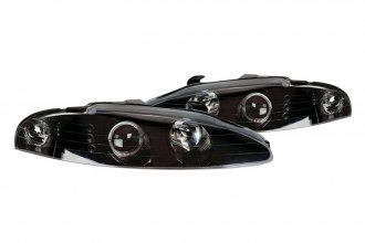 CG® - Black Dual Halo Projector Headlights with LEDs G3