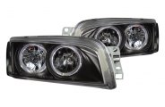 CG� - Black Halo Crystal Headlights - 4DR