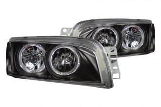 CG® - Black Halo Euro Headlights