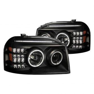 2003 Nissan Frontier Custom Factory Headlights CARiD