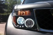 CG® - Black Projector Headlights with LEDs