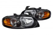 CG® - Chrome Crystal Headlights with Amber Reflectors
