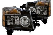 CG® - Black Crystal Headlights