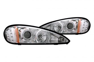 CG® - Chrome Halo Projector Headlights with LEDs