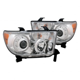 CG® - Chrome CCFL Halo Projector Headlights with LED DRL