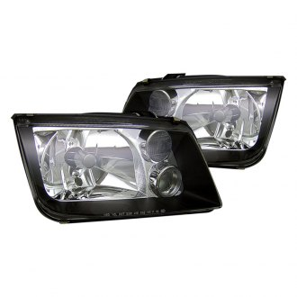 CG® - Black Euro Headlights with Fog Lights